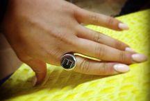 Sigilli Personalizzati / Anelli in Argento e Oro con iniziali forate