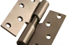 Hinges / We love all types of hinges, including Door Hinges, Gate Hinges, Cabinet Hinges, Butt Hinges and Tee Hinges.
