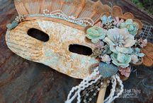 Tattered Angels Masks