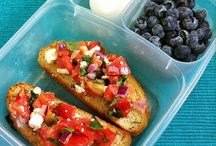 Nourish | Lunchbox / Healthy packed lunch ideas. Mostly vegetarian.