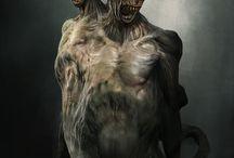 horror, creepy