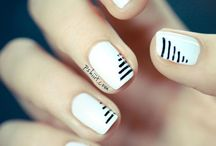 Beauty Review - White Nails