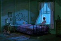 Color Keys - night / Lighting reference of night ambience