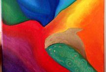 Moje Vytvory / My paintings / My handmade goodies