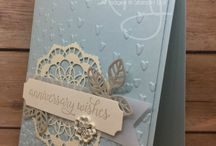 Stampin' Up! Falling In Love cards