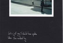 Lyric Prints / Photos and lyrics. Together. Mike Errico: www.errico.com