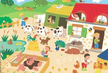 Maternelle: animaux: ferme