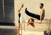 Functional Movement / Some pictures about functional exercise and movement. Training while having fun, not only yoga!