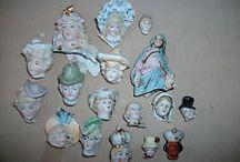 Porselen Dukkeansikter