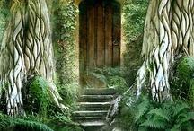 casas fantásticas del bosque