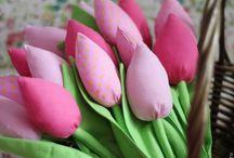Tilde tulips Тюльпаны тильда