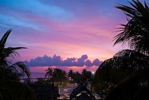 sunset in paradise!