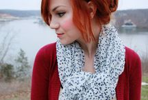 RED / Looking for the perfect shade of red hair? It's here.  / by Amber N.