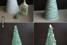 Doe-het-zelf kerstboom