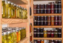 Homemade conservation & food saving / Заготовки