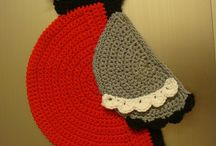 Bullfinch decor crochet pattern projects / by LittleOwlsHut