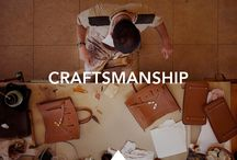 Uniform Wares and Craftsmanship / A celebration of the makers and the incredible products that they make. Images chosen by the Uniform Wares design team.