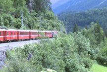 Cose da fare una volta nella vita / Immagini e foto di un viaggio sul trenino rosso del Bernina. Un'esperienza indimenticabile e tutto sommato low cost.