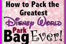 Disney World - Packing