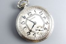 Antique men's pocket watch / PROFESSIONALLY SERVICED- Our watches have been cleaned, oiled, timed, adjusted, and are running as accurately as possible. We do ALL of our own watch restoration. Over 40 years experience in the complete restoration of fine time pieces. Member NAWCC 35 years- (National Association of Watch and Clock Collectors).