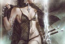 erotic fantasy / fantasy art