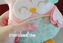 Fabric Craft - Owls
