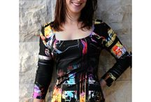 Miracle Dresses - BunkerBradleyCouture / Our unique prints are so clever at enhancing your body that our clients call them Miracle Dresses. They instantly bring a smile to your face and to everyone around you.