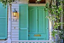 Southern Porches / There's something about country porches that I admire. Might be The Notebook lol