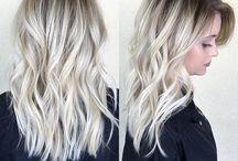 Silver / Hair color