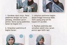 Modern Hijab  / Tutorial hijab modern, selamat mencoba (^ - ^)b
