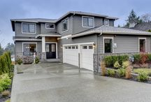The Bainbridge at Montaire / The Bainbridge home in Kirkland Washington boasts 6 bedrooms, 3.75 baths, and a daylight basement. This home was designed for luxury living.