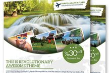 Travel Agency Flyers