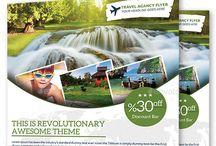 Travel Agency Flyers