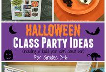 October Classroom Ideas