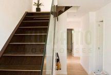 Escaleras / Escaleras en casas de madera Kuusamo Log Houses
