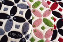 inaku - Signature Pattern / inaku create this fun & modern interpretation of kawung, a traditional Indonesian batik pattern.