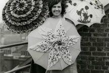Parasols and umbrella's....antiques and vintages