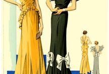 1930s Evening Wear