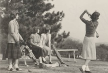 Fore! / Golf classes at Mount Holyoke College.