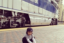 First Train Ride on Amtrak / by Amtrak Travels