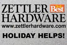Zettler Holiday Helps! / Any Holiday! See us for Accessories and GIfts!