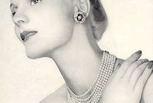 Vintage jewelery ads / I try to learn more about vintage jewelry so I save examples here / by Helen Karlsson