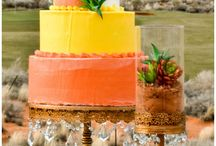 Desert Party Ideas / All our favorite magical desert decor in one place! Cactus, succulents, bright colors, red rocks and more.