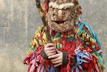 Iberian art, masks & costumes