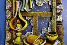 Мастерская Веры Устиновой / Изделия из керамики ручной работы от мастера Веры Устиновой