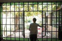 Mampara ventana