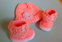 Patucos y otros de crochet / Mis creaciones a la venta en mi tienda Etsy y ebay