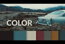 Grading colour film