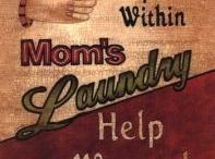 Mount Never-Rest, laundry inspiration / by Dana Hendley