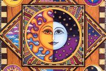 lune, soleil....